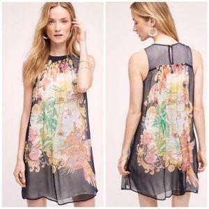 Anthropologie Moulinette Soeurs Silk Varese Dress